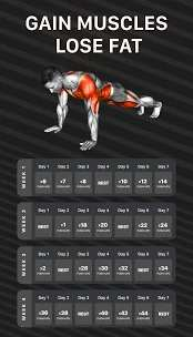 Workout Planner by Muscle Booster Premium Apk (MOD Unlocked) 2